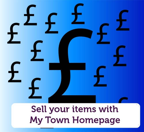 Sell your items with My Town Homepage