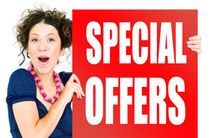 Free Special Offers Promotions for all local Businesses
