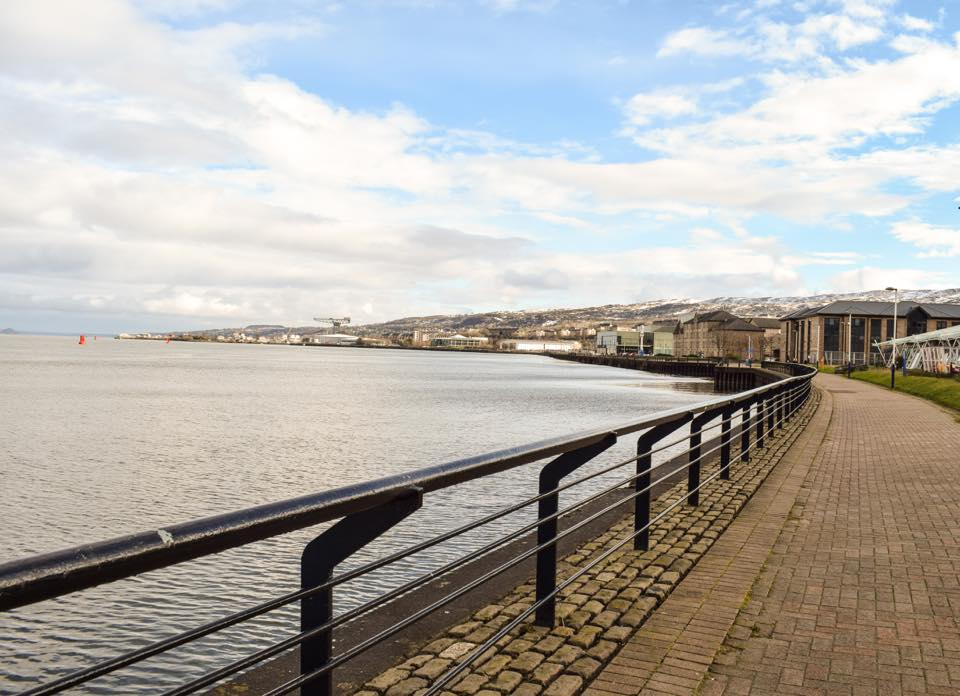 Greenock Waterfront - Photo by Charlie McCallum -  Click on the Facebook Link to comment